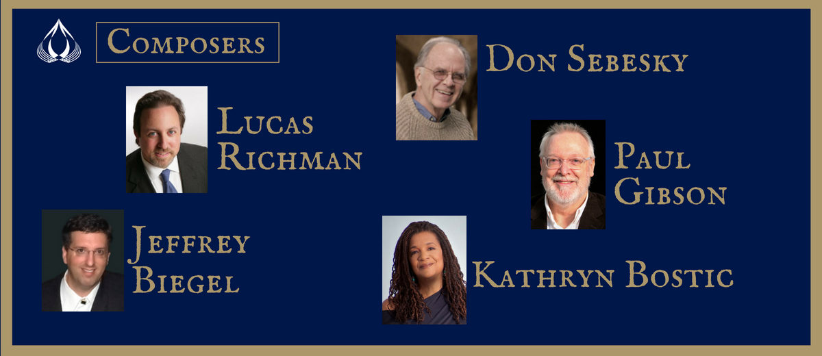 composers: don sebesky, lucas richman, paul gibson, jeffrey biegel, kathryn bostic