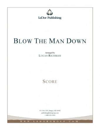 blow the man down score cover