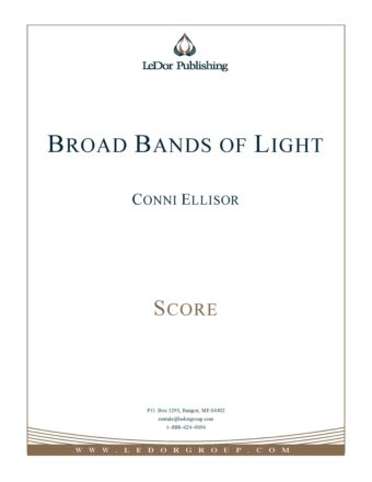 broad bands of light score cover