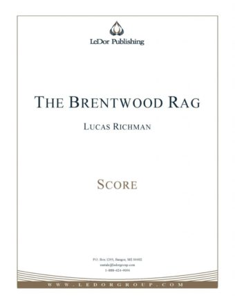 the brentwood rag score cover