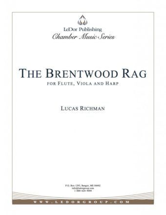 the brentwood rag for flute, viola and harp cover