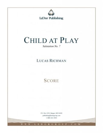 child at play score cover