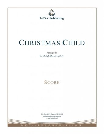 christmas child score cover