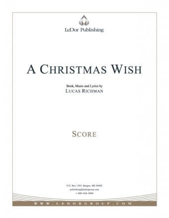 a christmas wish score cover