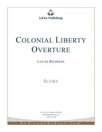 colonial liberty overture score cover