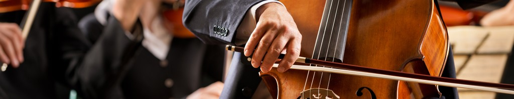 man playing cello photo