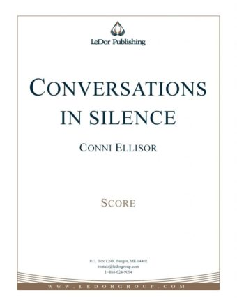 conversations in silence score cover