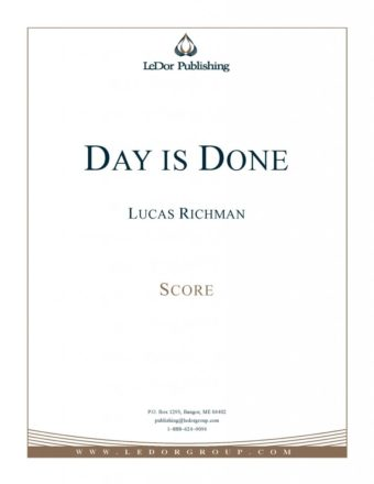 day is done score cover