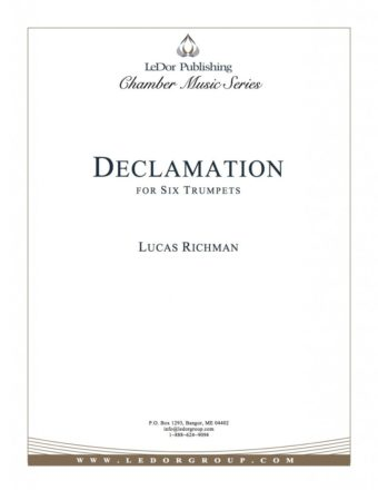 declamation for six trumpets cover