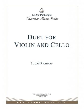 duet for violin and cello cover