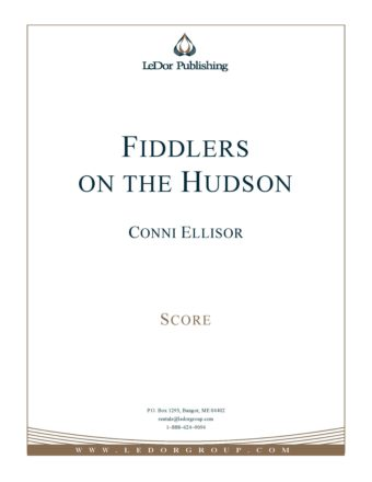fiddlers on the hudson score cover