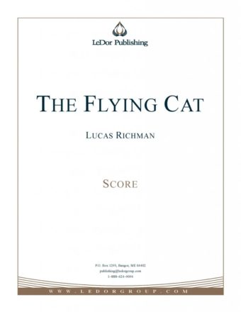 the flying cat score cover