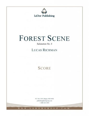 forest scene salutation no. 6 score cover
