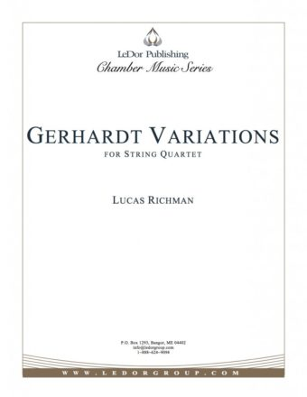 gerhardt variations for string quartet cover