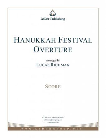hanukkah festival overture score cover