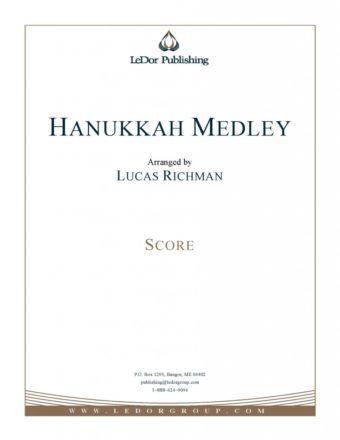 hanukkah medley score cover