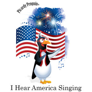 picardy penguin i hear america singing graphic