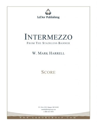 intermezzo from the stainless banner score cover
