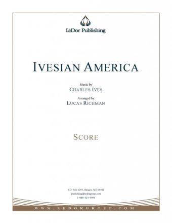 ivesian america score cover