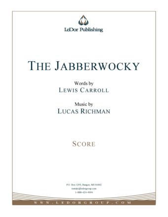 the jabberwocky score cover