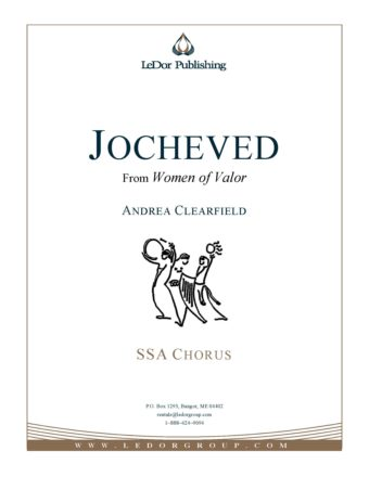 jocheved from women of valor ssa chorus cover