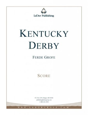 kentucky derby score cover