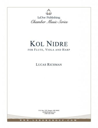 kol nidre for flute, viola and harp cover