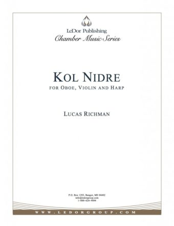 kol nidre for oboe, violin and harp cover