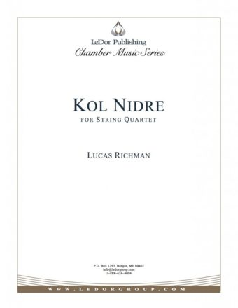 kol nidre for string quartet cover