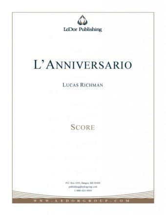 L'Anniversario score cover