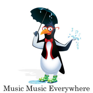 picardy penguin music music everywhere graphic