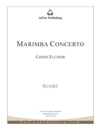 marimba concerto score cover