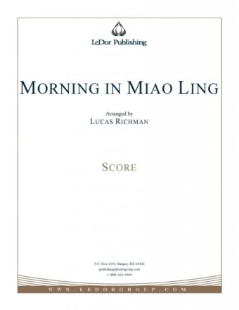 morning in miao ling score cover