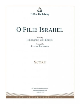 o filie israhel score cover