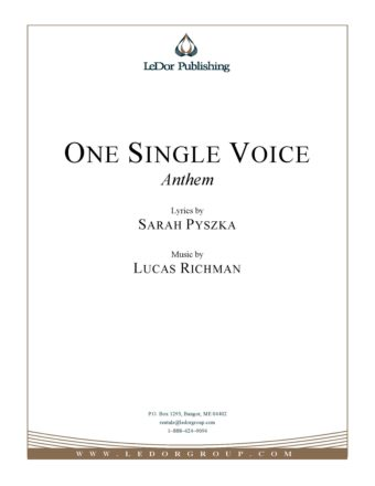 one single voice anthem cover