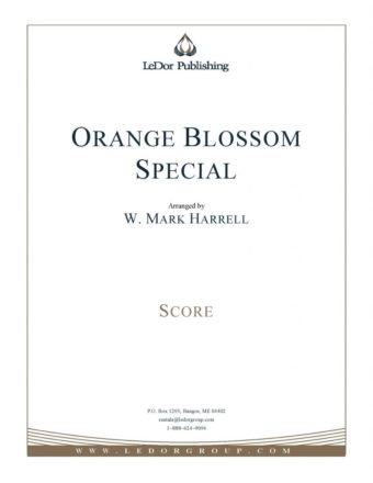 orange blossom special score cover