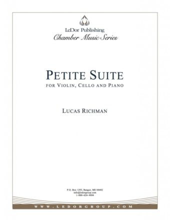 petite suite for violine, cello and piano cover