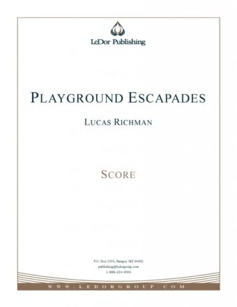 playground escapades score cover