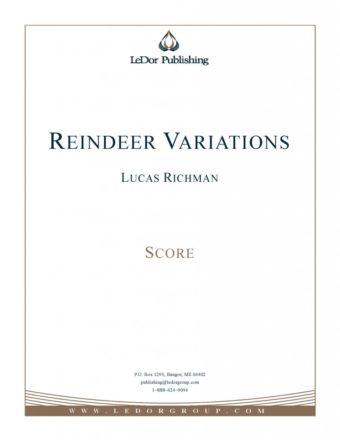 reindeer variations score cover