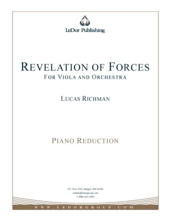 revelation of forces for viola and orchestra piano reduction cover