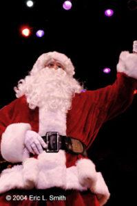 Santa Singing from A Christmas Wish photo