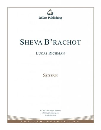 sheva b'rachot score cover