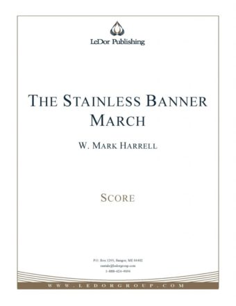 the stainless banner march score cover