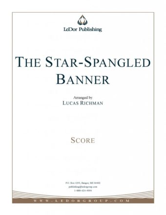 the star-spangled banner score cover