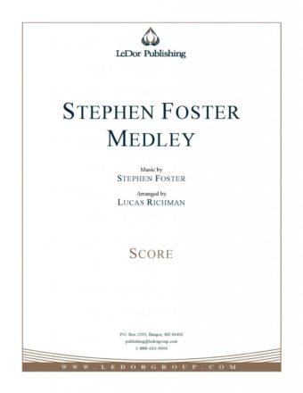 stephen foster medley score cover