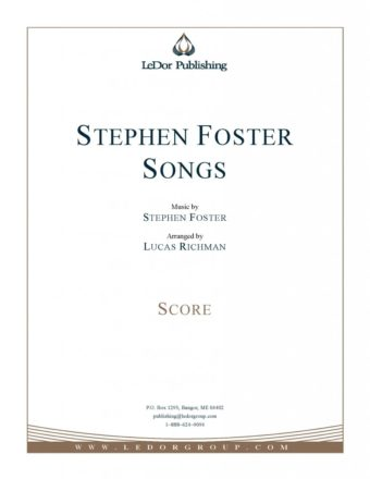 stephen foster songs score cover