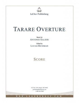 tarare overture score cover
