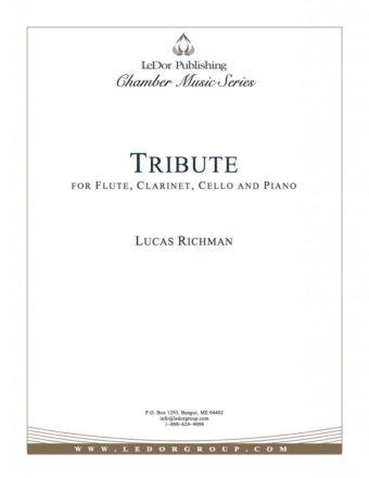 tribute for flute, clarinet, cello and piano cover