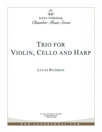 trio for violin, cello and harp cover