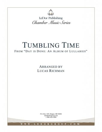 "tumbling time from ""day is done: an album of lullabies"" cover"